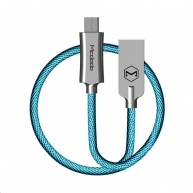 Mcdodo Knight Series USB AM To Micro USB Data Cable (1.5 m) Blue