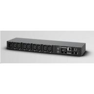 CyberPower Rack PDU, Switched, 1U, 10A, (8)C13, IEC-320 C14