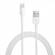 Apple USB kabel s lightning konetorem - bílý (bulk balení) 2m