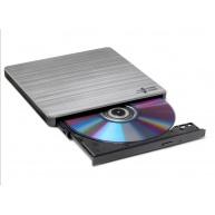 HITACHI LG - externí mechanika DVD-W/CD-RW/DVD±R/±RW/RAM GP60NS60, Slim, Silver, box+SW