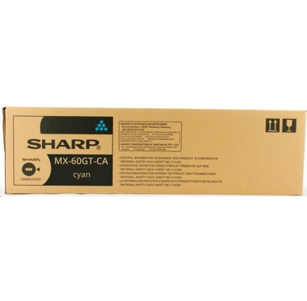 SHARP toner MX-60GTCA na 24 000 stran