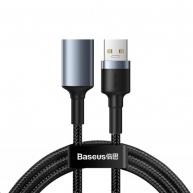 Baseus prodlužovací USB 3.0 kabel Male-Female 2A, 1m tmavě šedá