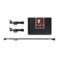NOCTUA NA-SEC1 - sada 3 ks prodlužovacích kabelů pro 4pin ventilátory