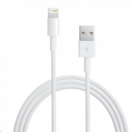 Apple USB kabel s lightning konetorem - bílý (bulk balení) 1m