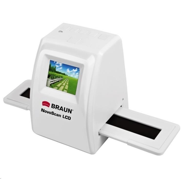 Braun NovoScan LCD (5Mpx / 1800dpi, Li-Ion akum./síť.zdroj, PC/Mac, USB2)