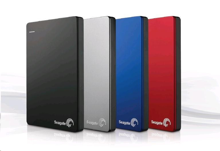 """SEAGATE Backup Plus Portable 1TB Ext. 2.5"""" USB 3.0 Red"""