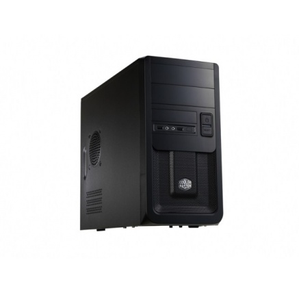Cooler Master case Elite 343, micro-ATX, Mini Tower, černá, bez zdroje