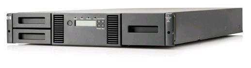 HPE MSL2024 0-Drive Tape Library (AK379A) + StoreEver MSL LTO7 SAS Drive (N7P37A) + 24x LTO7 Ultrium RW cartr (C7977A)