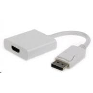 GEMBIRD Redukce DisplayPort - HDMI (M/F) bílá