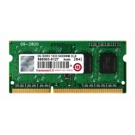 SODIMM DDR3 2GB 1333MHz TRANSCEND 1Rx8 CL9