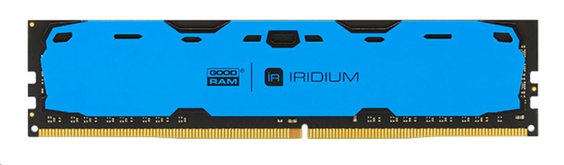 DIMM DDR4 8GB 2400MHz CL15 (Kit 2x4GB) GOODRAM IRDM, blue