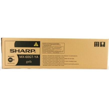 SHARP toner MX-60GTYA na 24 000 stran