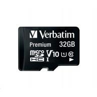 VERBATIM Premium U1 Micro SecureDigital SDHC/SDXC 32GB + SD Adaptér