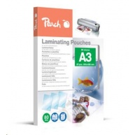 Peach Laminating Pouch A3 (303x426mm), 80mic, PPR080-01