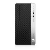 HP ProDesk 400G6 MT i7-9700, 1x8 GB, HDD 1 TB Intel HD, kl. a myš, DVDRW, zdroj 310W gold,2xDP+VGA, Win10Pro