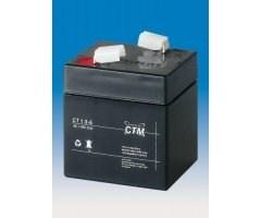 Baterie - CTM CT 6-1 (6V/1Ah - Faston 187)