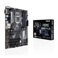 ASUS MB Sc LGA1151 PRIME B360-PLUS/CSM (SW + PUR RMA), Intel B360, 4xDDR4, VGA