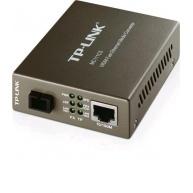 TP-LINK MC111CS WDM Fast Ethernet Media Converter, 10/100Mbps RJ45 to 100Mbps single-mode SC fiber Converter