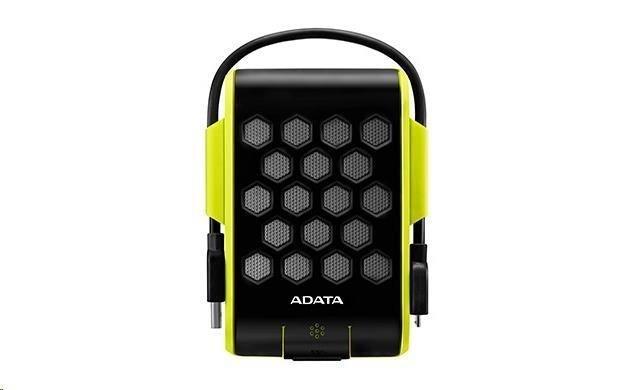 """ADATA  Externí HDD 1TB 2,5"""" USB 3.0, DashDrive™ Durable HD720, G-sensor, zelený, (gumový, vodě/nárazu odolný)"""