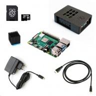 Raspberry Sada Zonepi Pi 4B/4GB, (SDHC karta 16GB + adaptér, Pi4 Model B, krabička, chladič, HDMI kabel, napájecí zdroj)