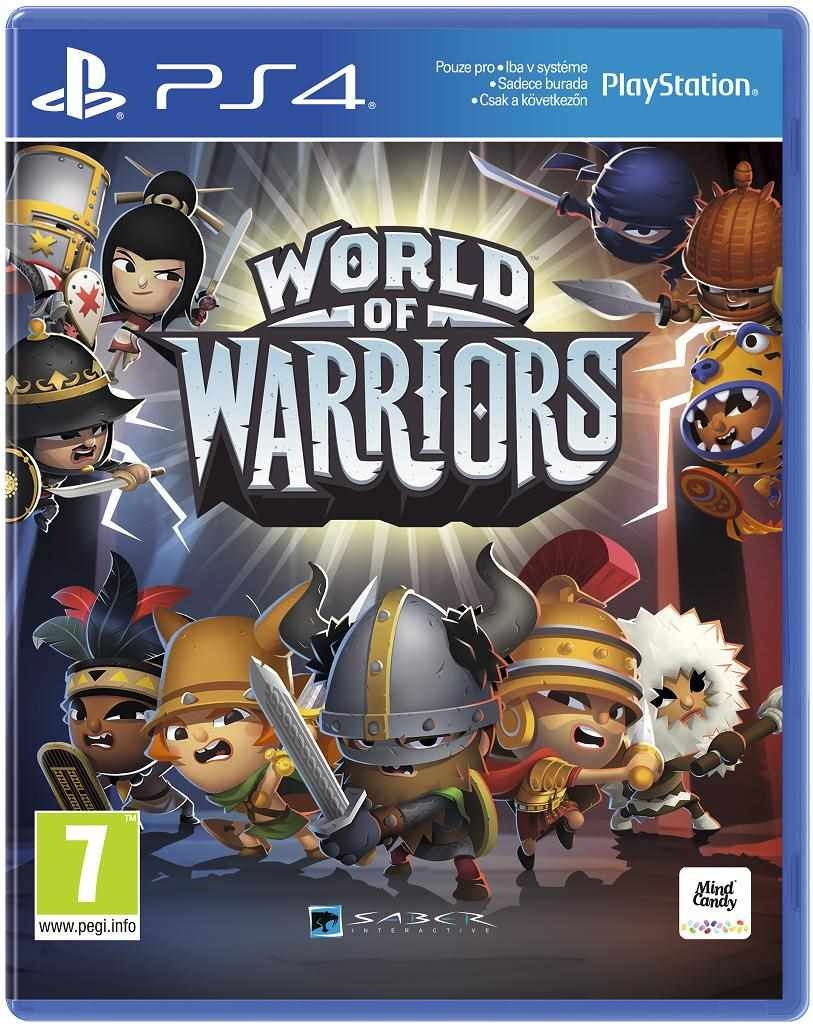 SONY PS4 hra World of Warriors