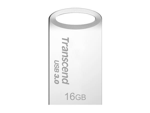 TRANSCEND USB Flash Disk JetFlash®710S, 16GB, USB 3.0, Silver (R/W 90/12 MB/s)
