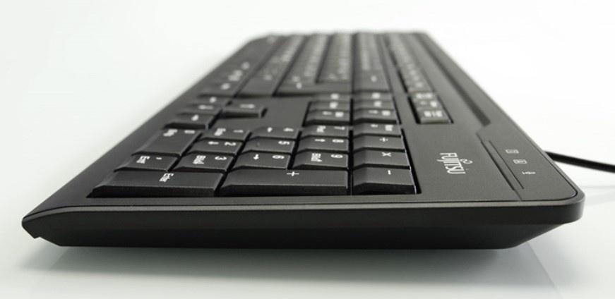 FUJITSU Klávesnice KB410 USB CZ SK - USB - černá