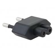AVACOM Zásuvkový konektor Typ C (EU) pro USB-C nabíječky, černá
