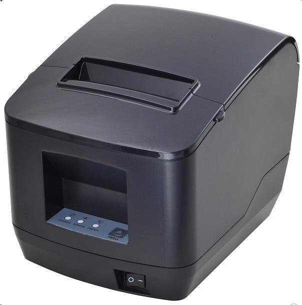 Birch CP-Q2 Pokladní tiskárna s řezačkou, USB + RS232, černá, tisk v českém jazyce