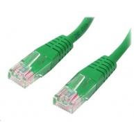 MicroConnect UTP CAT5e 0.5m, zelený (CCA)