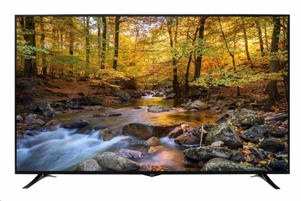 "ORAVA LT-1900 LED TV, 75"" 190cm, UHD 3840x2160, DVB-T2/C/S2, PVR ready, HbbTV, WiFi"