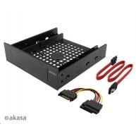 """AKASA adaptér 3.5"""" interní zařízení/SSD/HDD + SATA kabely"""