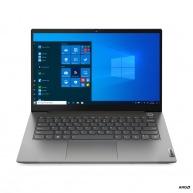"LENOVO ThinkBook 14 G2 ITL - i7-1165G7@2.8GHz,14"" FHD IPS,16GB,512SSD,HDMI,USB-C,cam,W10P,Šedá,1r carry-in"