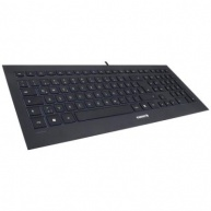 CHERRY klávesnice STRAIT/ drátová/ USB/ černá/ CZ+SK layout