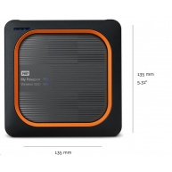 WD My Passport Wireless SSD 500GB Ext. USB3.0, SD Card,