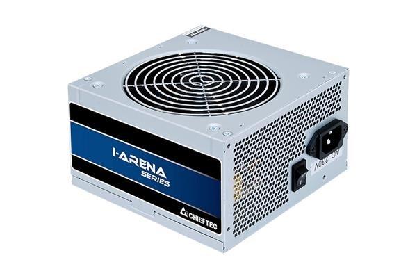 CHIEFTEC zdroj iARENA, GPB-500S, 500W, 120mm fan, PFC, účinnost >85%, bulk