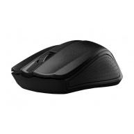 C-TECH myš WLM-01, černá, bezdrátová, USB nano receiver
