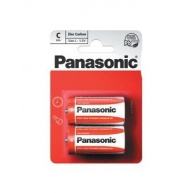 PANASONIC Zinkouhlíkové baterie Red Zinc R14RZ/2BP EU C 1,5V (Blistr 2ks)