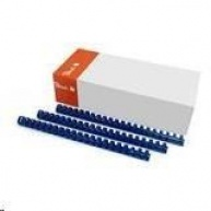 Peach Binding Combs 21 Rg A4 16mm, blue