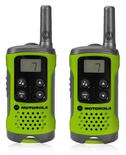 Motorola vysílačka TLKR T41 (2 ks, dosah až 4 km), zelená