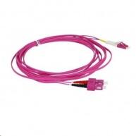 Duplexní patch kabel MM 50/125, OM4, SC-LC, LS0H, 5m