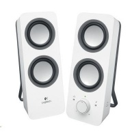 Logitech Multimedia Speakers 2.0 Z200 Snow White