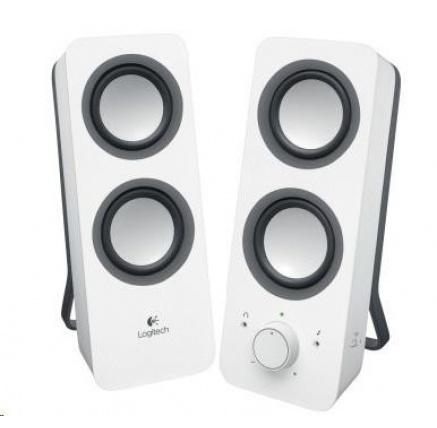 Logitech Multimedia Speakers 2.0 Z200 Snow White