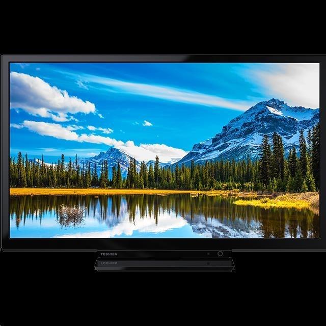 "Toshiba 24L2863DG Smart LED TV, 24"" 60 cm, FHD 1920x1080, DVB-T2/C/S2, Wi-Fi, USB, LAN, HDMI"