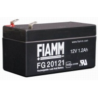 Baterie - Fiamm FG20121 (12V/1,2Ah - Faston 187 - 48mm), životnost 5let