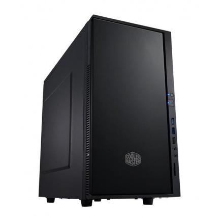 Cooler Master case Silencio 352 Matte, micro-ATX, Mini Tower, černá, bez zdroje