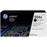 HP 504X Black 2-pack LJ Toner Cart, 2 x 10 500 str, CE250XD