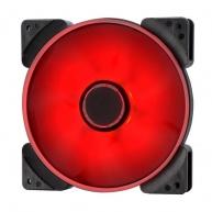 FRACTAL DESIGN ventilátor 140mm Prisma SL-14 červený