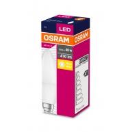 OSRAM LED VALUE ClasB  230V 5,7W 827 E14 noDIM A+ Plast matný 470lm 2700K 10000h (krabička 1ks)