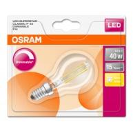 OSRAM LED SUPERSTAR CL P Filament 5W 827 E14 470lm 2700K (CRI 80) 15000h A+ DIM (Blistr 1ks)